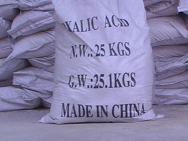 Bao Axit Oxalic 25kg