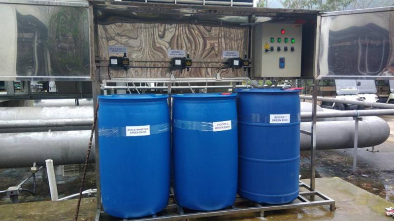 Phương pháp pha hóa chất xử lý nước thải an toàn và hiệu quả