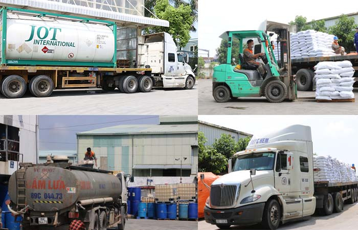 Vận chuyển hóa chất công nghiệp an toàn cần lưu ý những yếu tố nào?