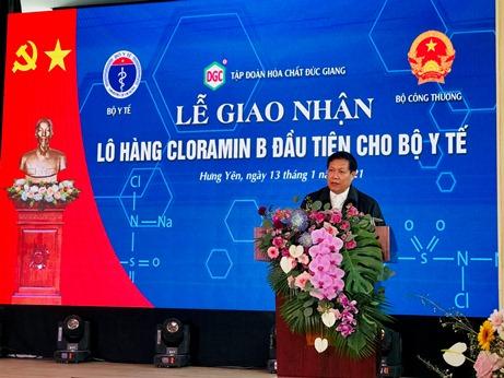 Việt Nam đã sản xuất được Cloramin B