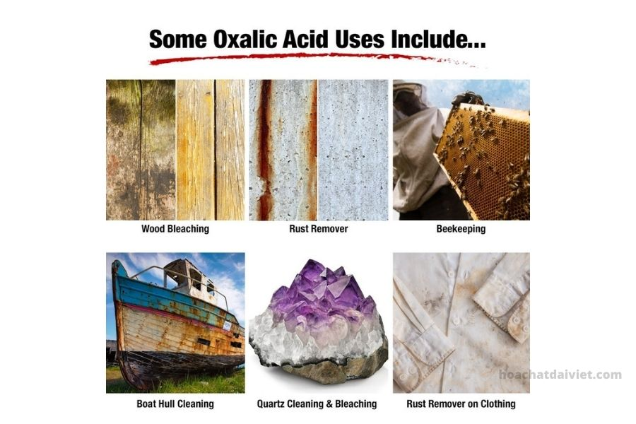 Ứng dụng của Axit Oxalic