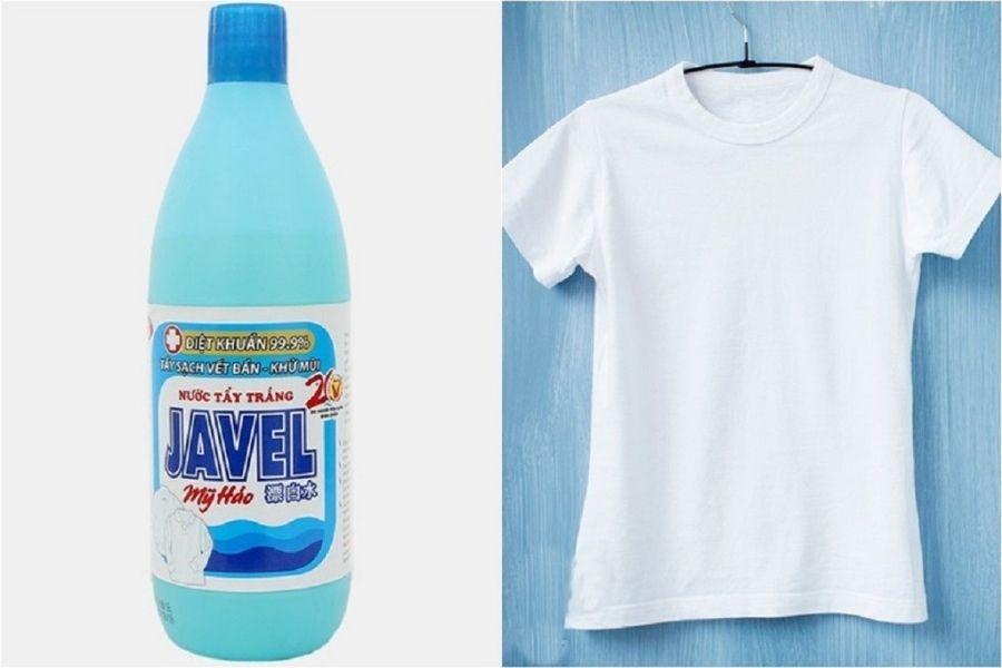 Nước Javen thường được dùng để tẩy quần áo